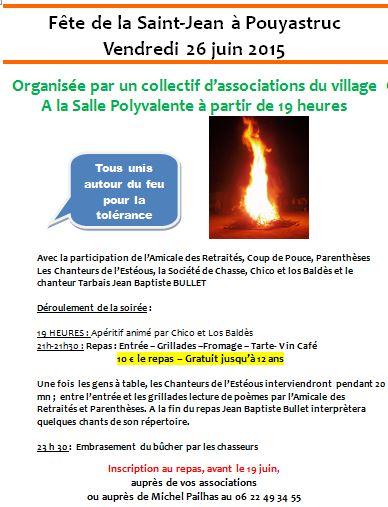 St Jean 2015 Tract Feu